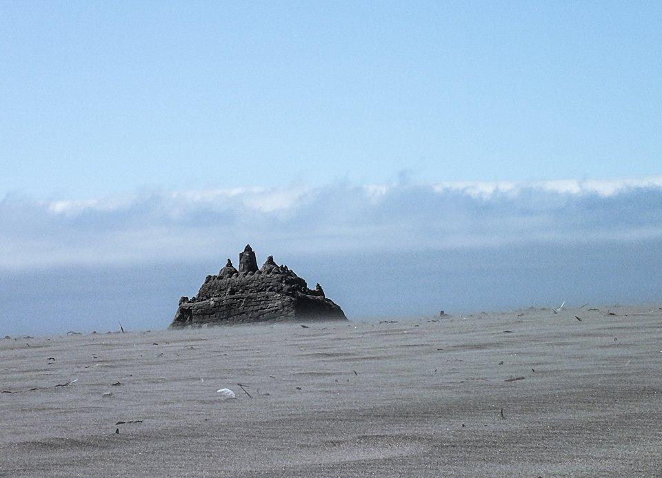 Schloss aus Sand